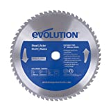 Evolution Power Tools 12BLADEST Steel Cutting Saw Blade, 12-Inch x 60-Tooth (Tamaño: 12 Inch)