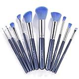 Makeup Brushes, USpicy Professional Makeup Brush Set 10 Pieces (Soft Synthetic Fiber for Uniform Application of Blush, Creams, Liquids, Contouring & P