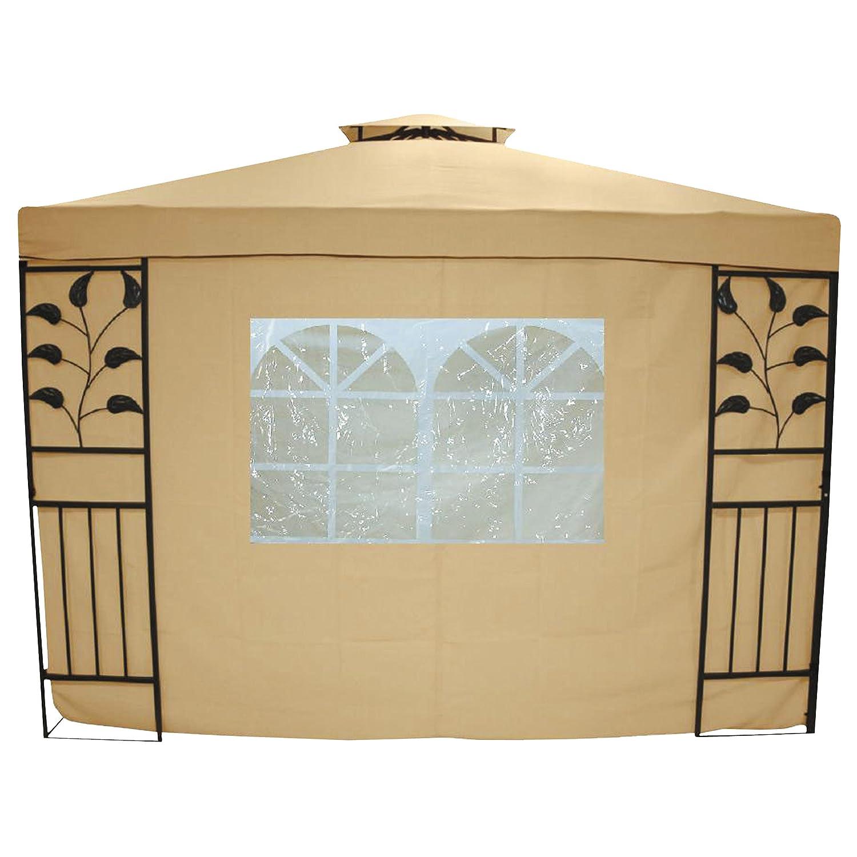 Greemotion Seitenwand Livorno mit Fenster, 2er Set, Beige, ca. 300 x 200 cm günstig bestellen
