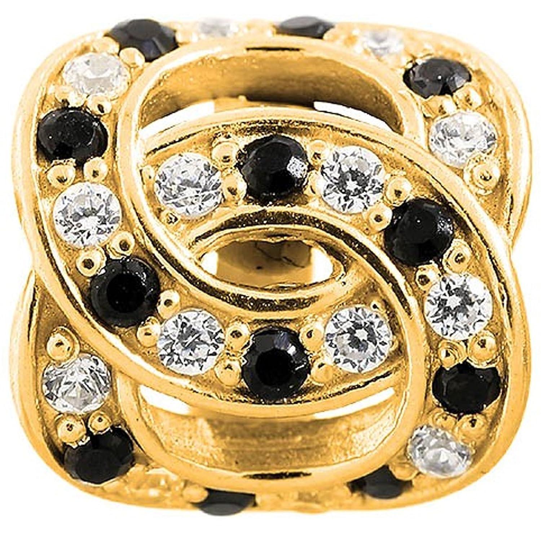 Endless Damen-Charm JLo Double Love 925 Silber teilvergoldet Zirkonia mehrfarbig – 1675 günstig online kaufen