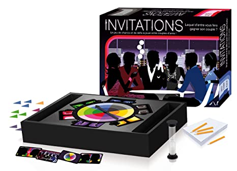 Av Editions - 17006 -  Jeu de Plateau - Invitations
