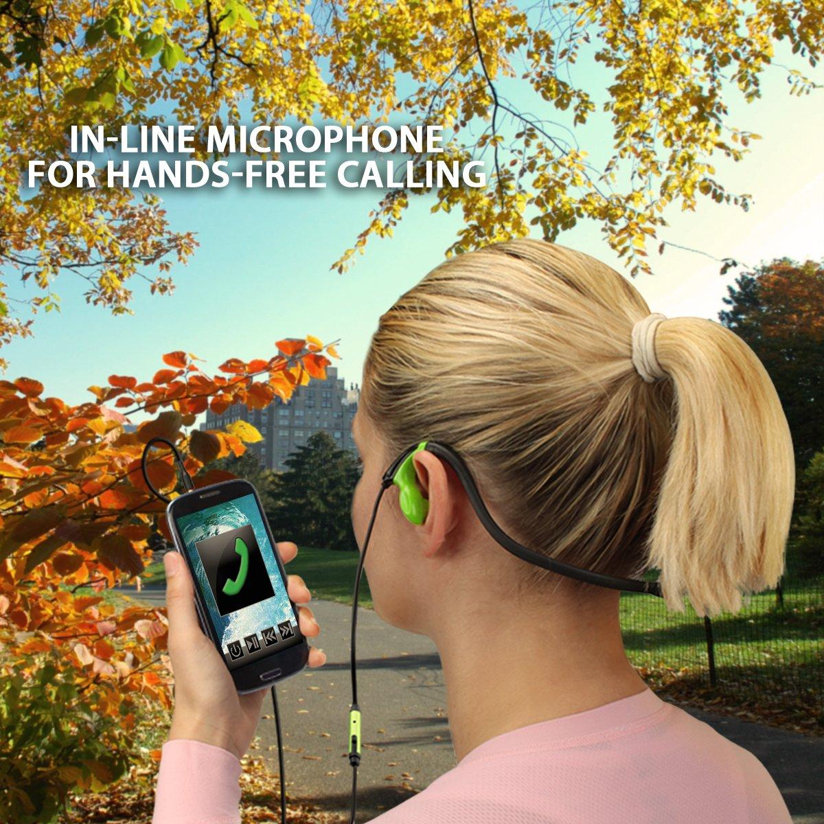 Iphone 6s earphones with microphone - wired earphones with earhook