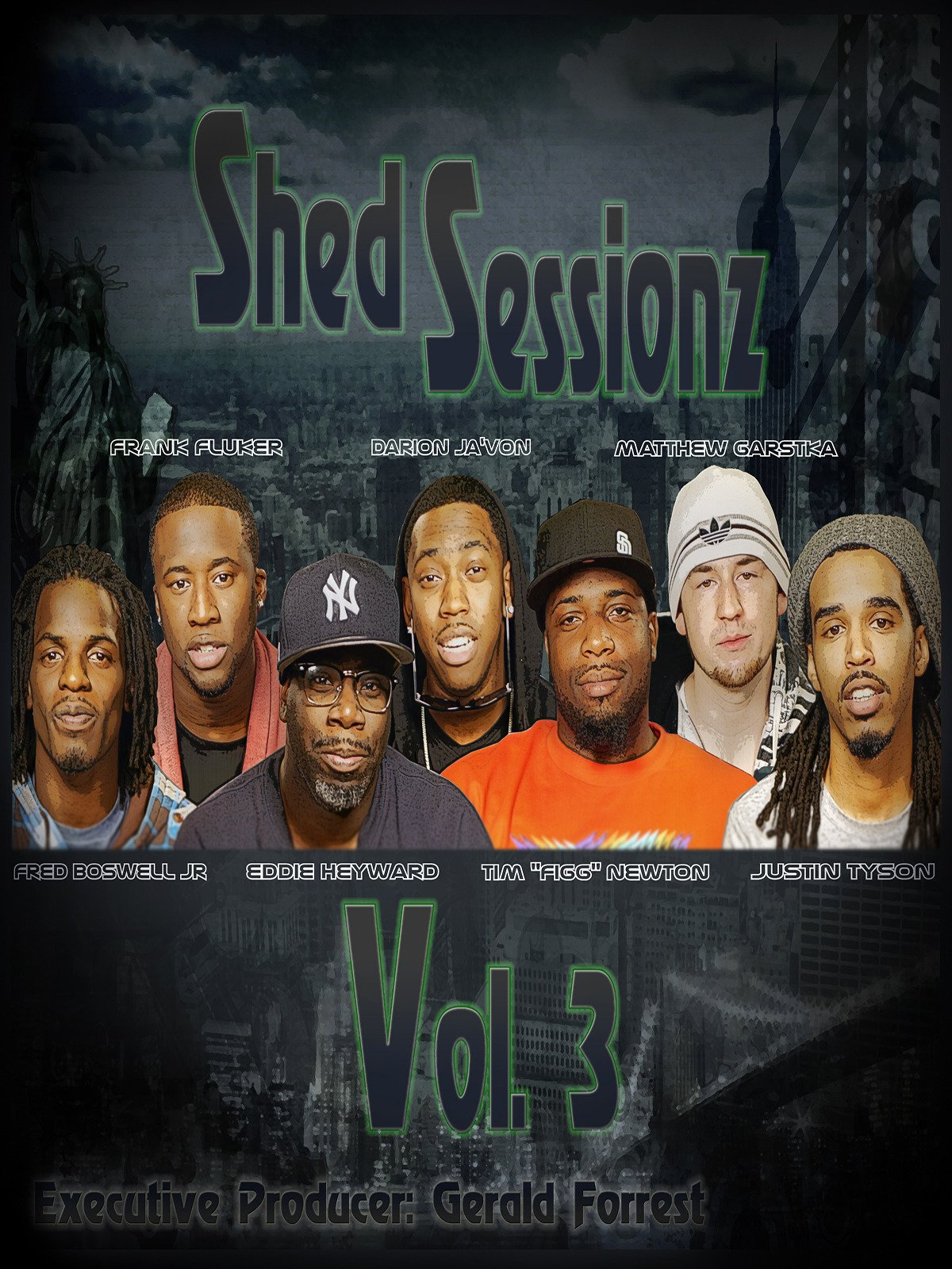 Shed Sessionz Vol. 3 on Amazon Prime Instant Video UK