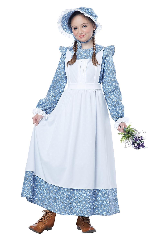 California Costumes Pioneer Girl Child Costume, Medium