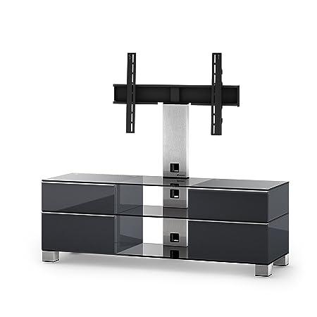 """Sonorous MD 8240-C-INX-GRP Greu TV-Möbel fur 60"""" Fernseher"""