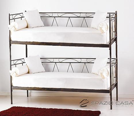 Canapé lit superposé Mozart vert