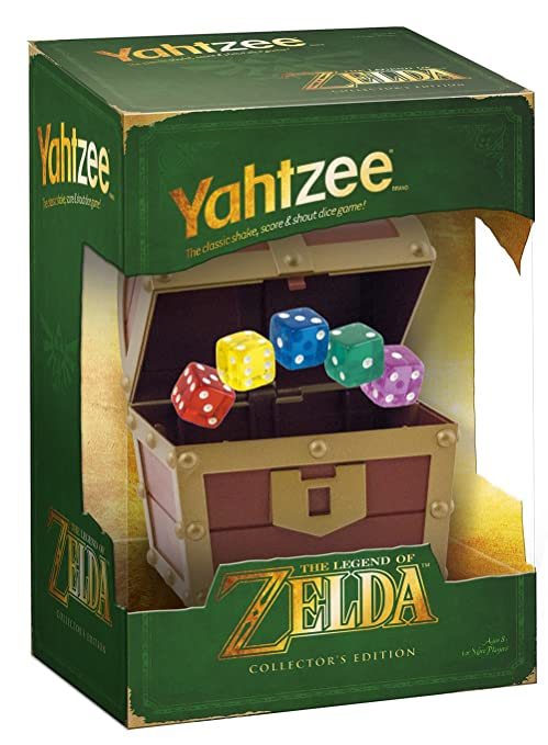 The Legend Of Zelda Yahtzee Collectors Edition Jeu De Société
