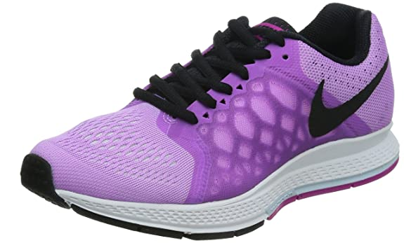 Nike Running Nere E Fucsia