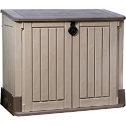 Keter Store It Out Midi Resin Outdoor Garden Storage Shed - Beige/Brown