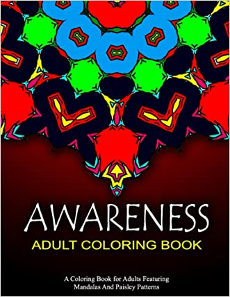 AWARENESS ADULT COLORING BOOK - Vol.3: coloring books for grown ups sample pack