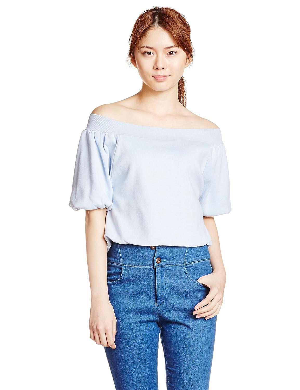 (スナイデル)snidel バルーン袖オフショルニットPO SWNT161219 86 BLU F : 服&ファッション小物通販 | Amazon.co.jp