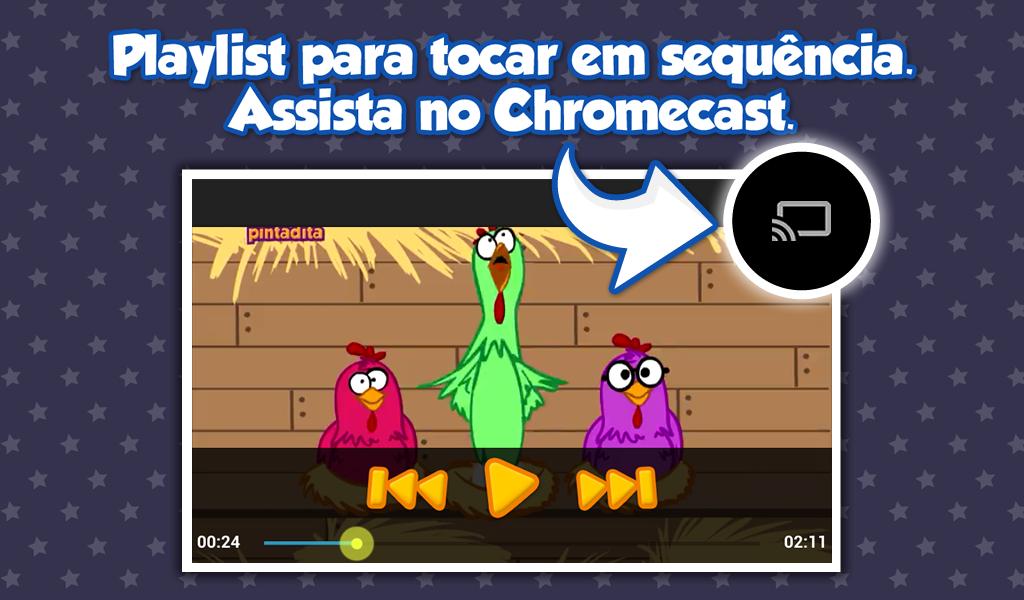 Amazon.com: Turma da Galinha Pintadinha: Appstore for Android