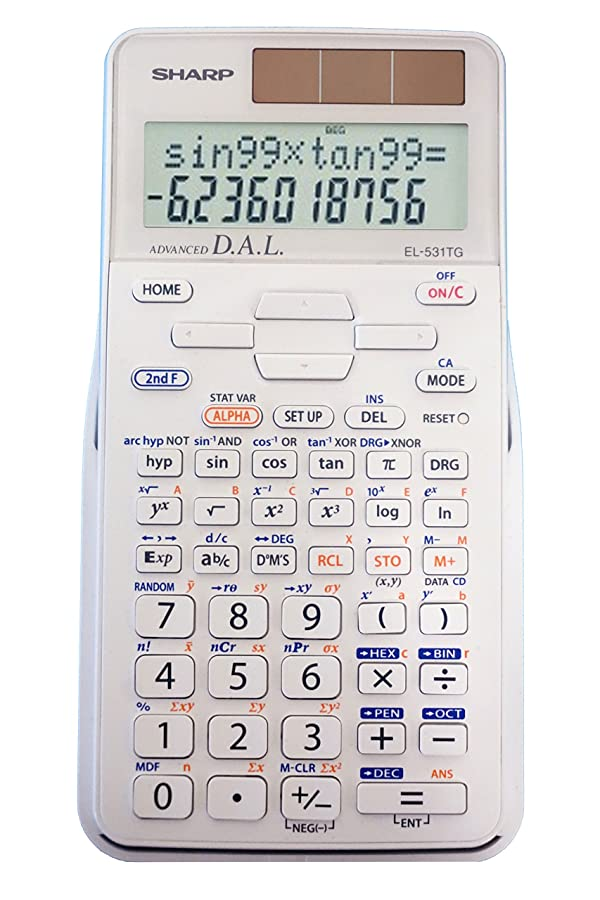 Sharp EL-531TGBDW Engineering/Scientific Calculator