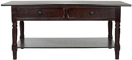 Safavieh Couchtisch, Holz, dunkles kirschrot, 105 x 55 x 46.99 cm