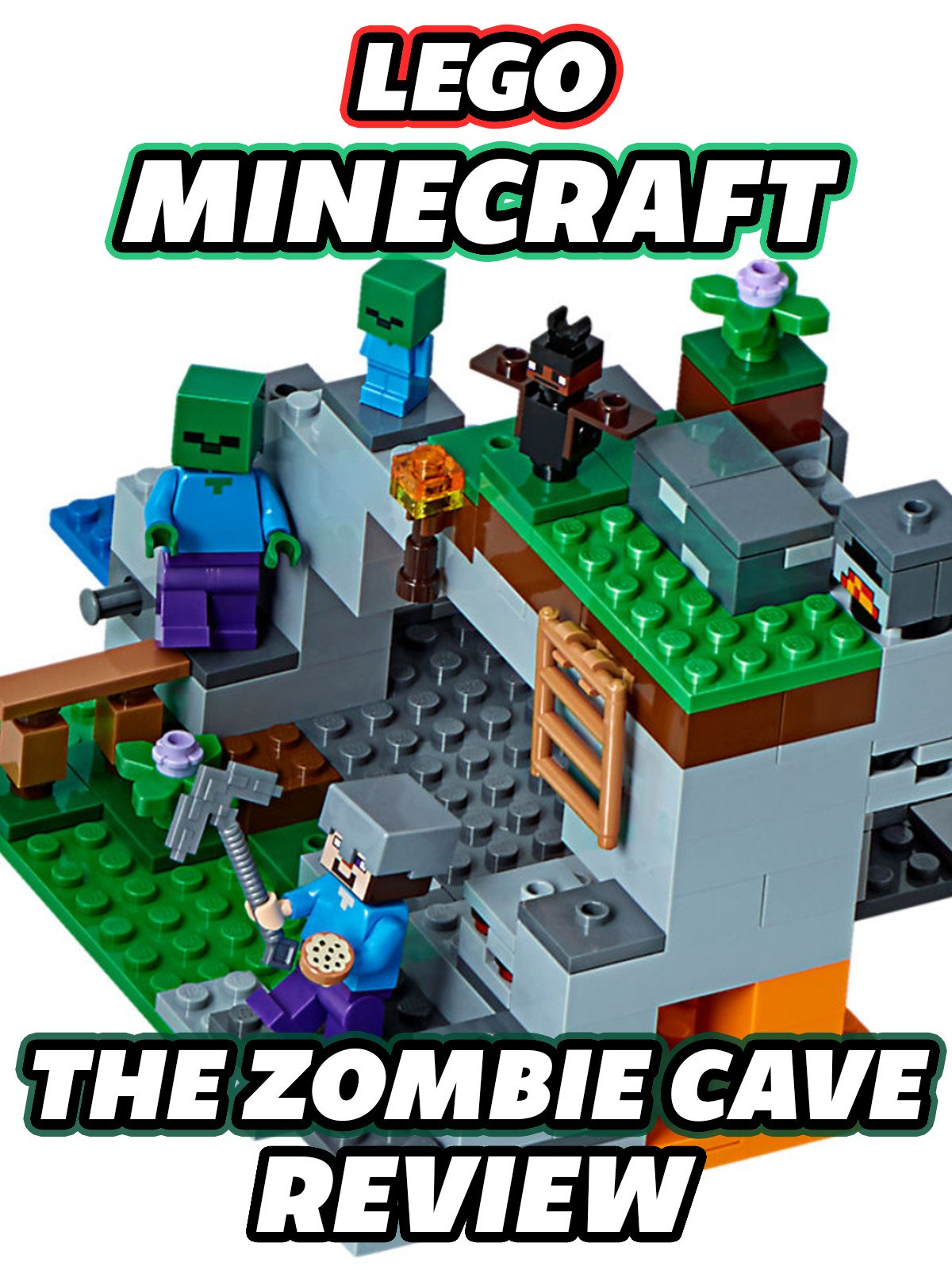 Clip: Lego Minecraft The Zombie Cave Review