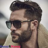 Rossy&Nancy Men Hairpiece Real French Lace Human Hair Replacement for Men Wig Thin Skin Men's Toupee #4 brown Color (Color: #4(8x10
