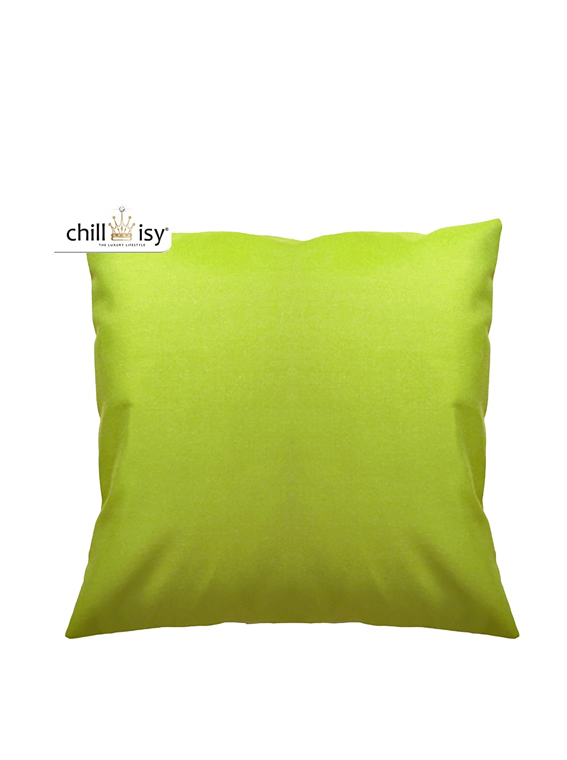 chillisy® SUMMERTIME Outdoor Kissen grün / lime, 60x60, farbecht