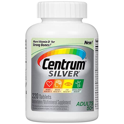 Centrum Silver Multivitamin Supplement, Adult, 220 Count