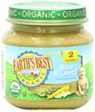 Earth's Best Organic Dinner Variety Pack, 4 Ounce Jars (Pack of 12)