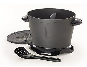 Presto 05450 DualDaddy Compact Deep Fryer