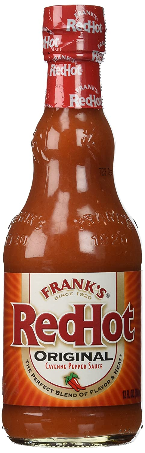 FRANK'S RED HOT SAUCE 12 OZ(Pack of1)