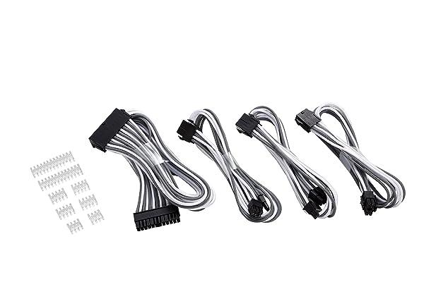 Phanteks Universal Extension Cables Kit - PH-CB-CMBO_WG (Color: White/Grey)