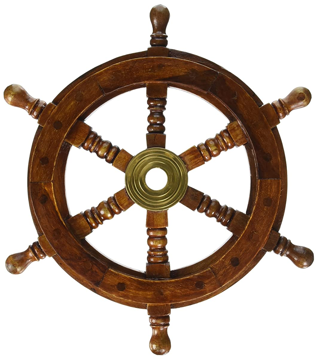 SAILORS SPECIAL 8760 Ship Wheel, 12""