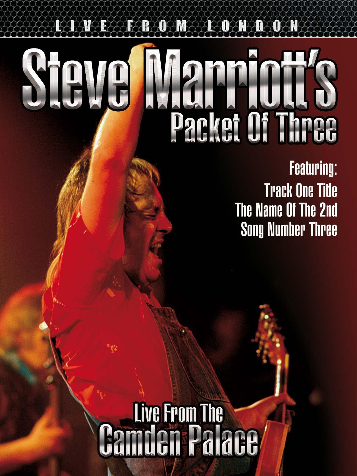 Steve Marriott's Packet Of Three