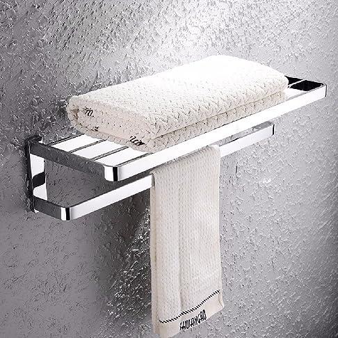 HQLCX tutti di rame bagno portasciugamani, asciugamano.