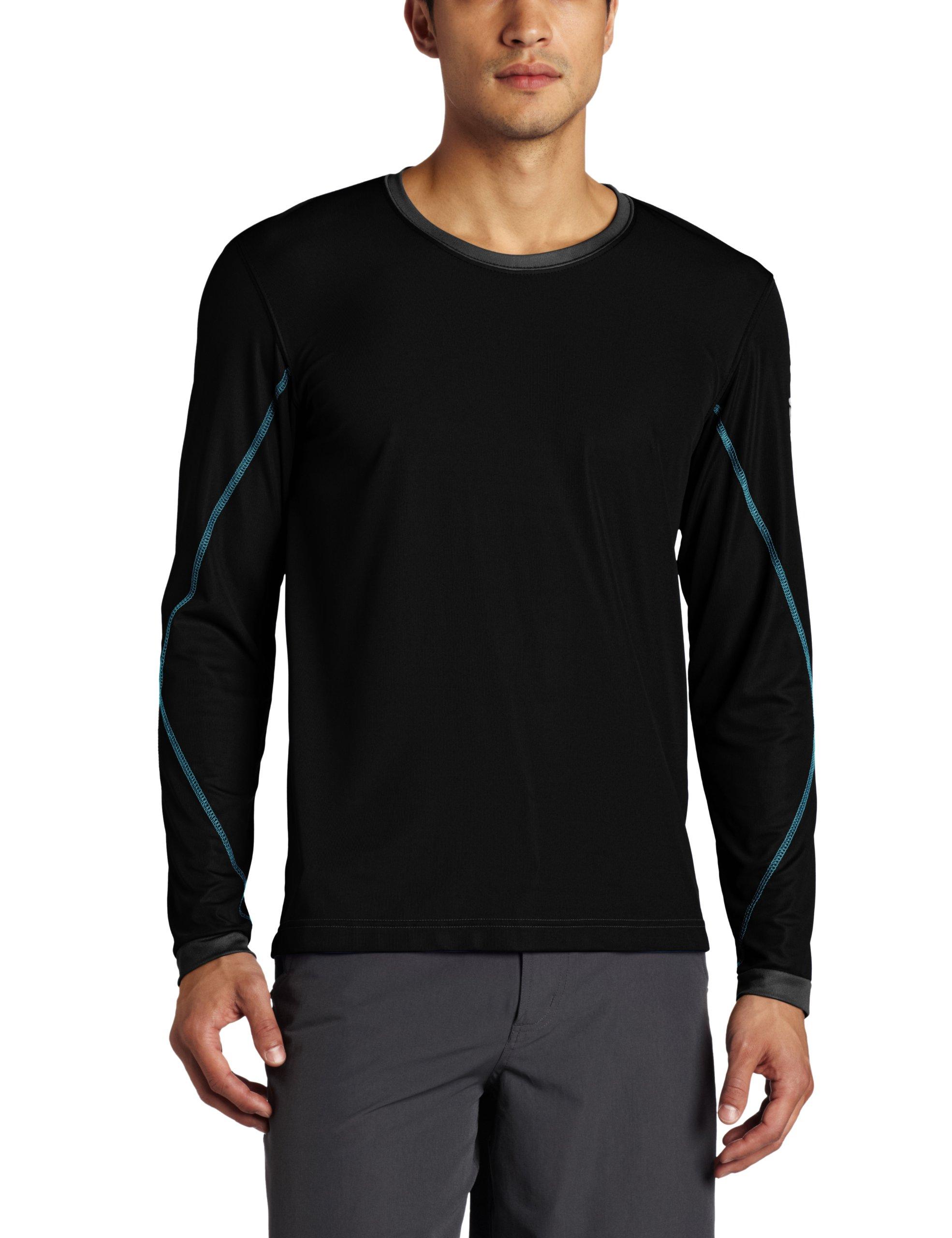 Galleon zumba fitness men 39 s logo long sleeve shirt for Mens medium long sleeve shirts