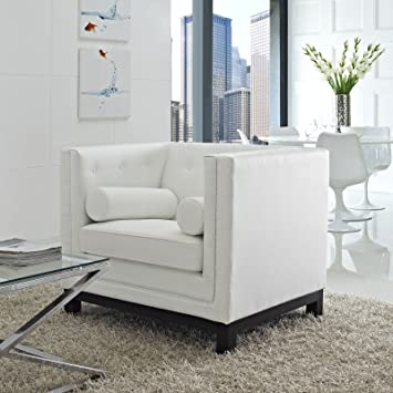 Imperial Armchair, White
