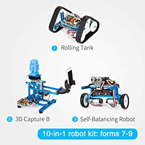 Makeblock DIY Ultimate Robot Kit - Premium Quality - 10-in-1