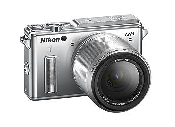 Nikon AW1 Appareil Photo Numérique Compact 14.2 Mpix zoom 2.5 x Argent