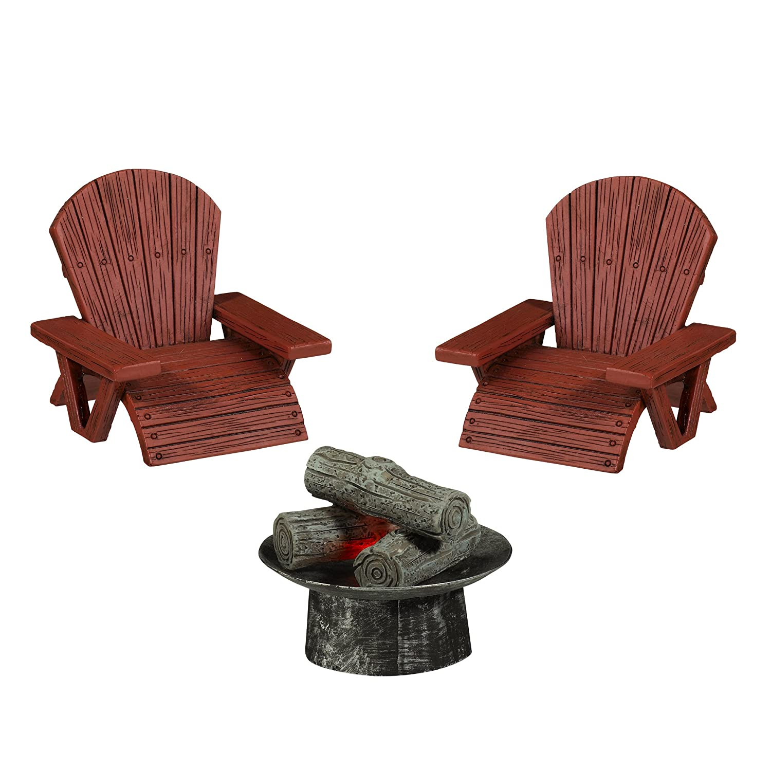 Grasslands Road Miniature Fire Pit and 2 3-Inch Tall Lawn Chairs, 2-Pack кеды road 3 road 3 ro040amajii4 page 9