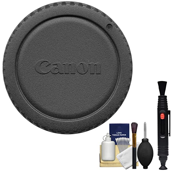 Canon RF-3 Camera Cover Body Cap for EOS Cameras with DSLR Cleaning Kit