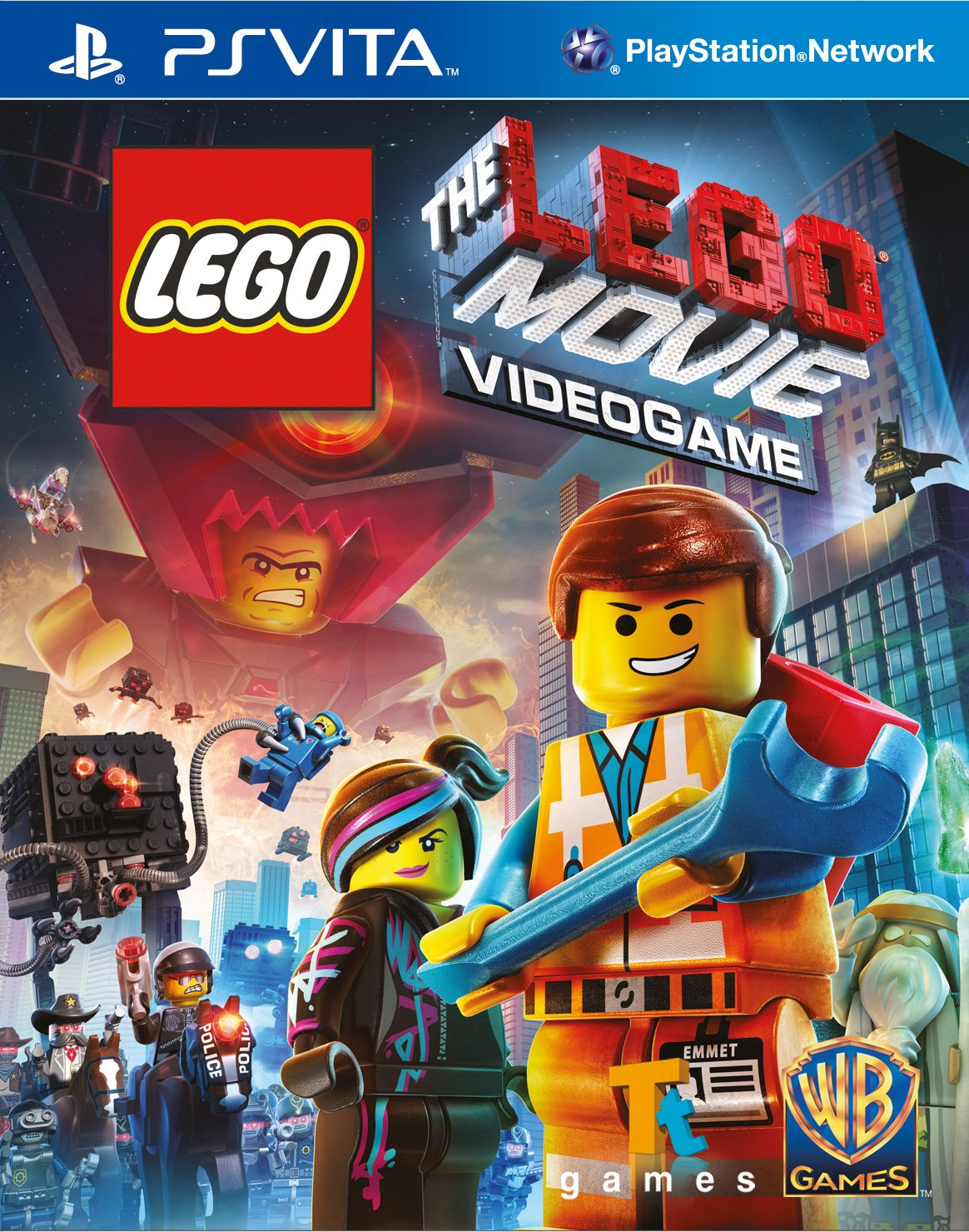 product photo for The LEGO Movie Videogame