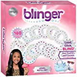 Blinger Jewel Refill Set -  Includes 180 Gems in Multiple Shapes and Colors (Color: Multi)