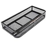 Goplus Universal ATV Front Cargo Basket Rack Luggage Carrier Steel Mesh Surface