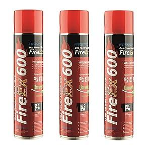 Prevento FireEx 600, das FeuerLöschGel, DREIERPACK!!! Preisvorteil! WELTNEUHEIT  AutoKundenbewertung und Beschreibung