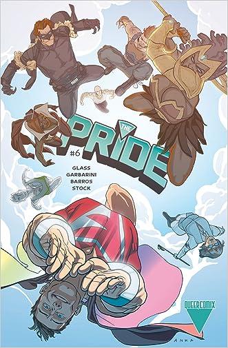The Pride #6 written by Joe Glass