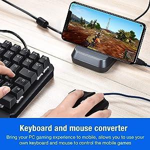BEBONCOOL BattleDock Mobile Game Controller Keyboard and