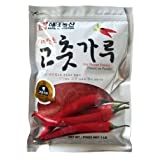 Haitai Agriculture Korean Hot Pepper Coarse Powder, 1.0 Pound (Tamaño: 1 Pack)