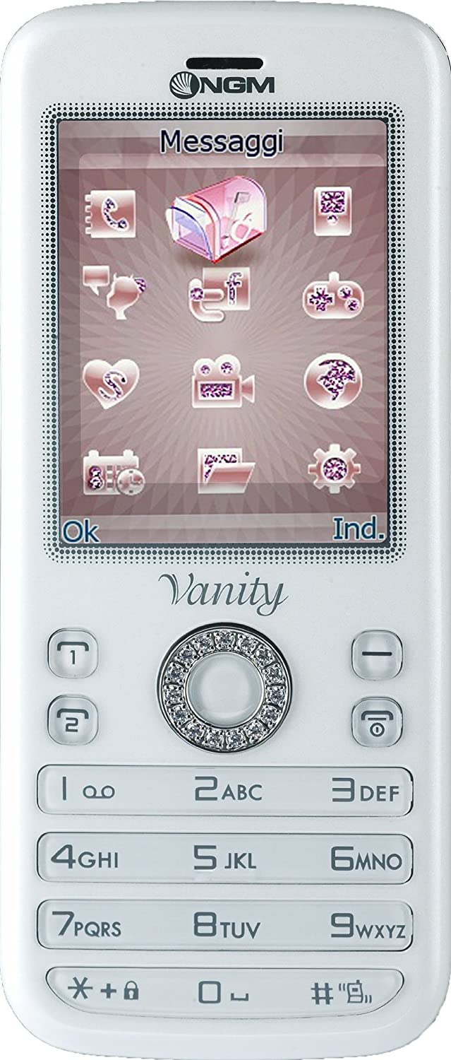 T�l�phone GSM NGM VANITY YOUNG BLANC