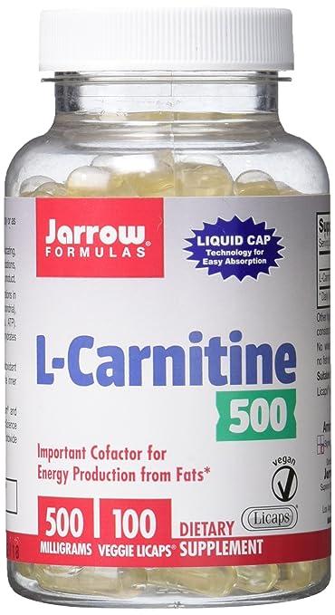 L-CARNITINE 500mg 100 Caplettes JR