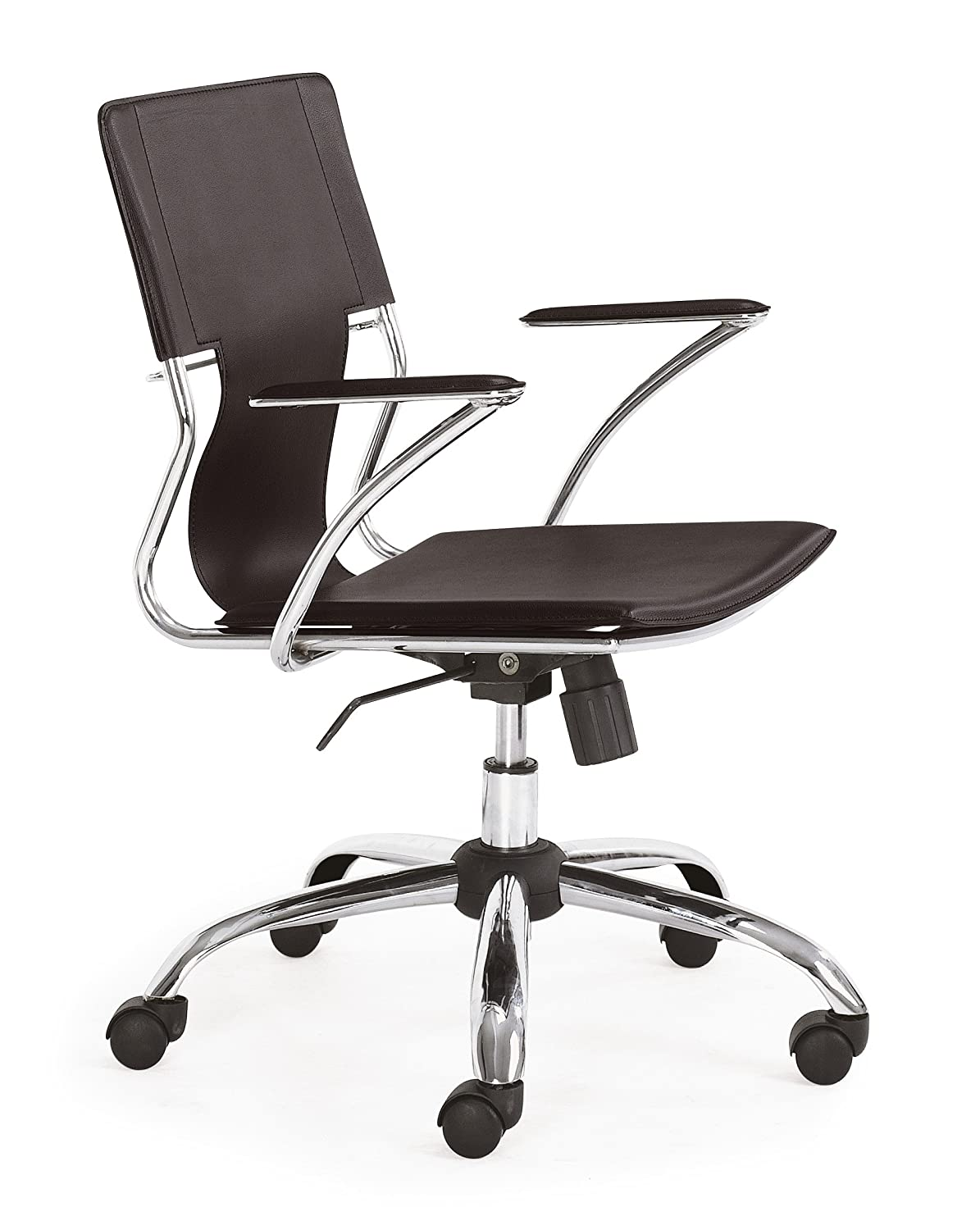 ZUO Trafico Office Chair, Black comforthigh quanlity office computer chair swivel lift ergonomic chair