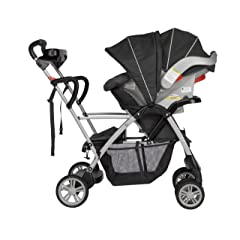 Graco RoomFor2 Stand and Ride Classic Connect Stroller Metropolis