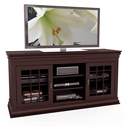 Sonax B-231-NCT Carson 60-Inch Wood Veneer TV/Component Bench