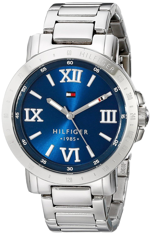 Tommy Hilfiger Women's 1781470 Analog Display Quartz Silver Watch свитшот tommy hilfiger mw0mw04096 403 sky captain page 1