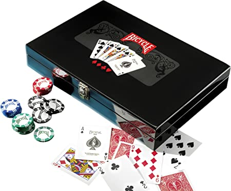 Bicycle - 37162 - Jeu de Société - Masters Poker Set
