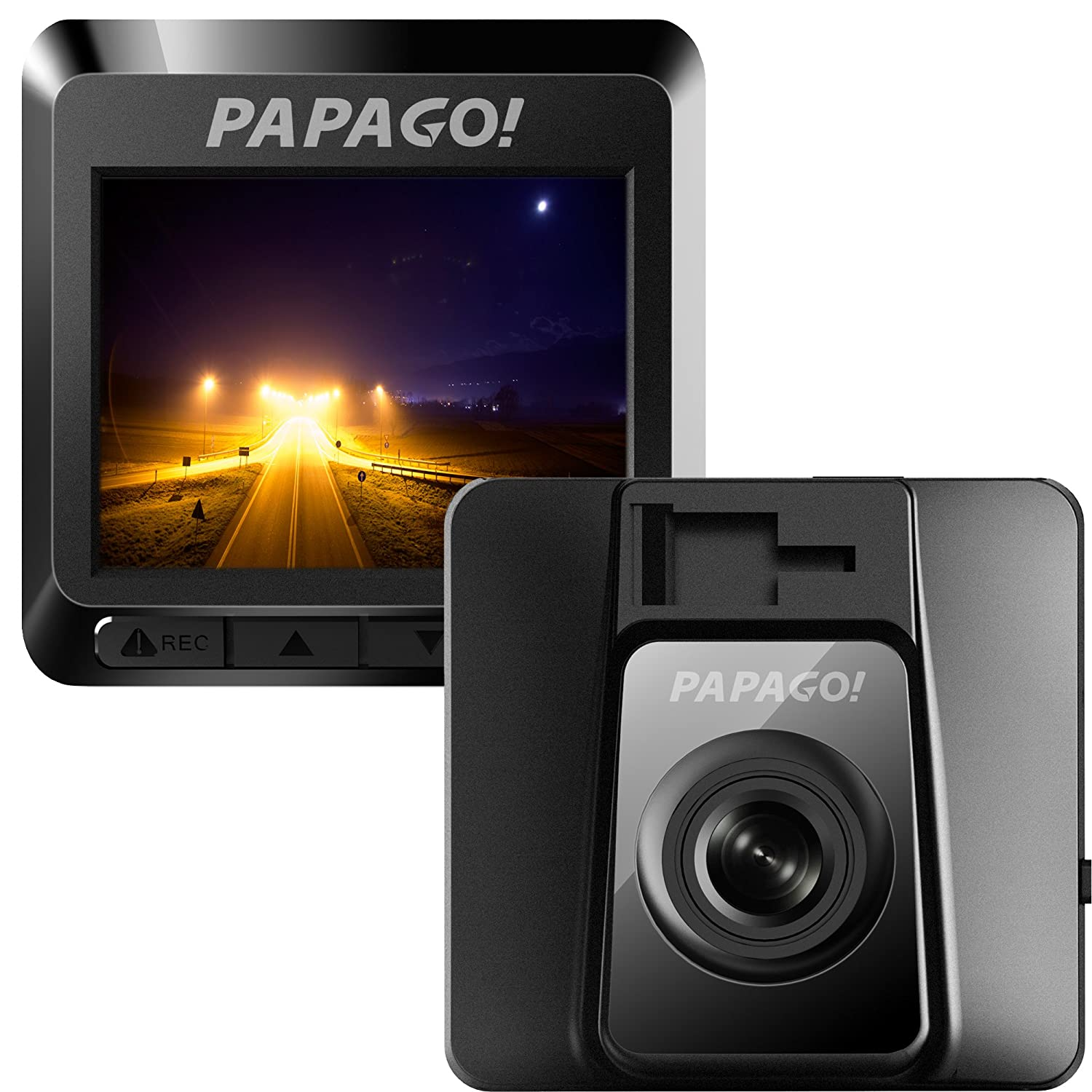PAPAGO Dashboard Camera GoSafe 388 Full HD 1080P Dash Cam with Free 8GB Micro SD Card GS3888G